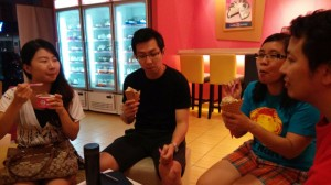 Cell Outing (Ice cream session at Basking Robbin  Taipan)