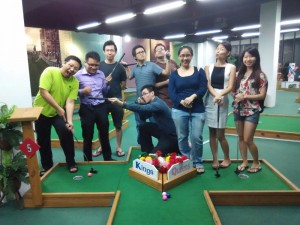 Cell Outing (Mini Golf at Citta Mall )